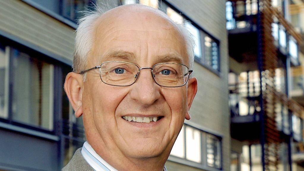 Konsernsjef Martin Mæland i OBOS.
