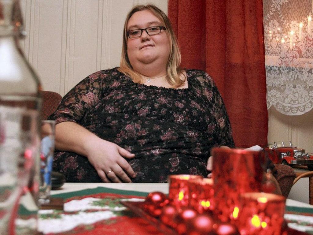 OVERVEKT: Ann-Kristin Emilsen Lundesgaard venter på slankeoperasjon.