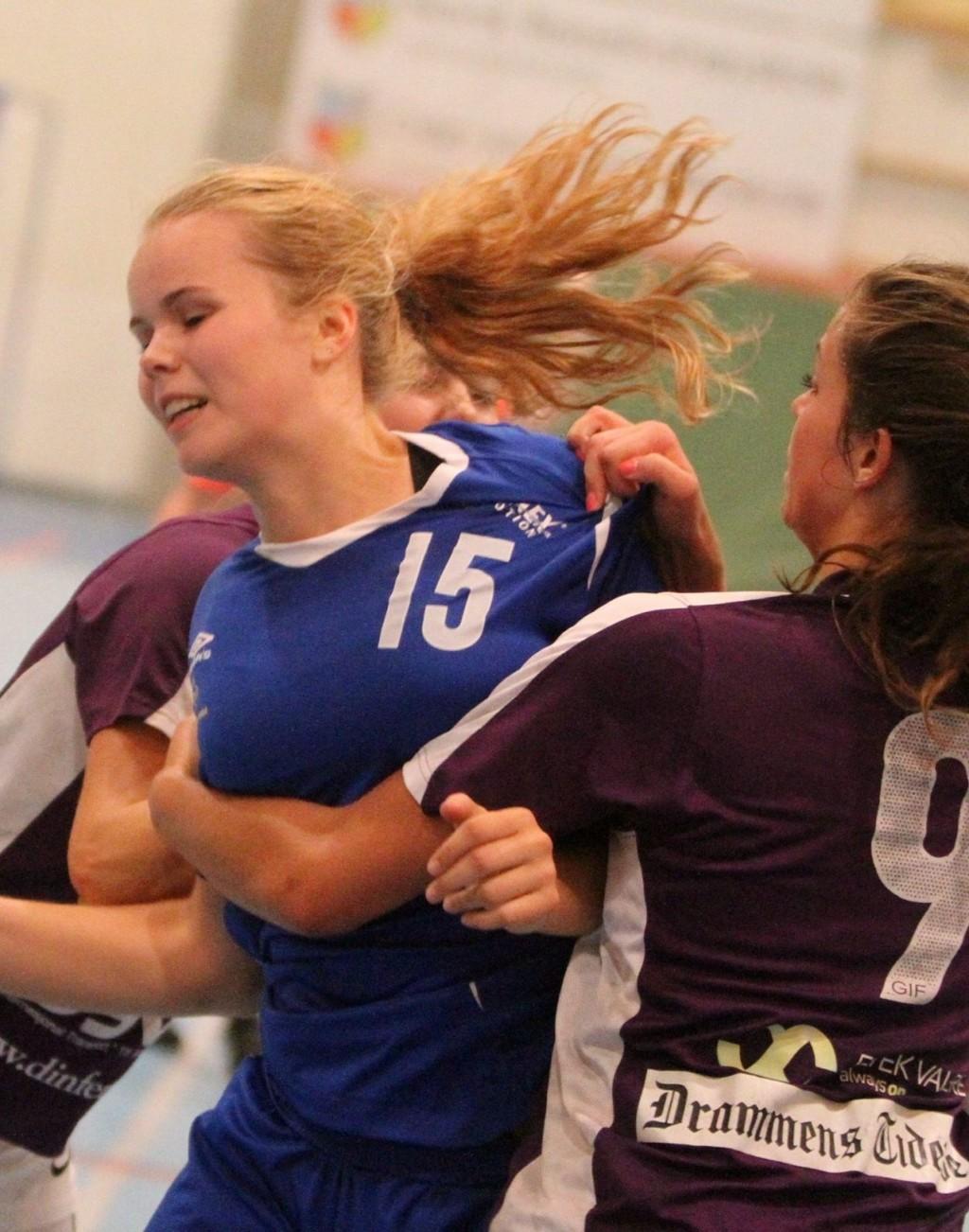 BLE STOPPET: Maria Kongsli og resten av Bækkelaget har hatt en dårlig helg med to tap i serieoppgjørene i 1.-divisjon. sArkivfoto