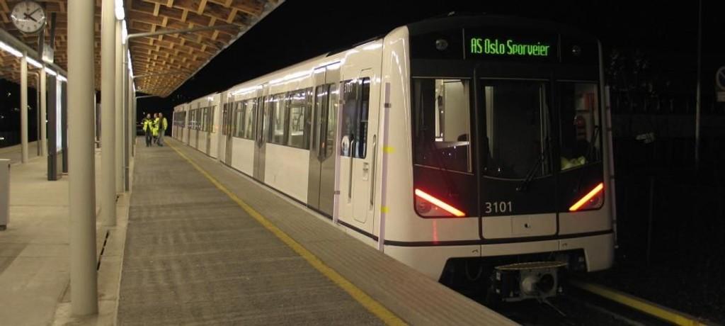 Ruter varsler at t-banen vil stenge mellom Majorstuen og Stortinget denne helgen.
