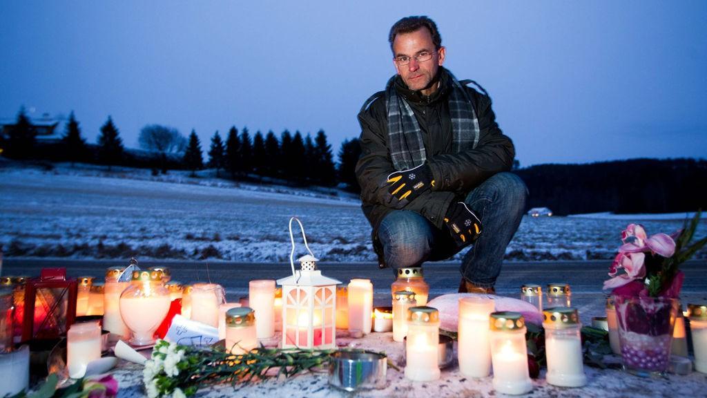 I SORG: Nils Henrik Holmedahl, omkomne Sara Christiane Holmedahl Sandsmarks onkel, forteller at familien ikke bebreider sjåføren av ulykkesbilen.
