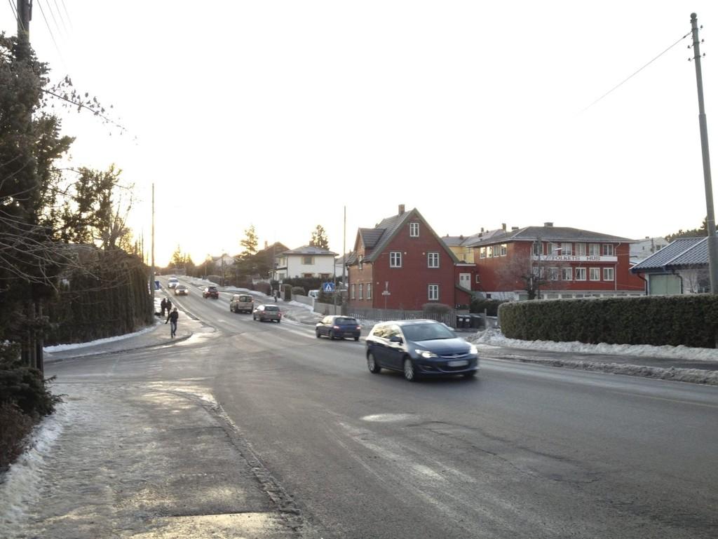 POLITIKONTROLLER: Det har vært mye fokus på trafikksituasjonen på Abildsø etter flere ulykker på kort tid.