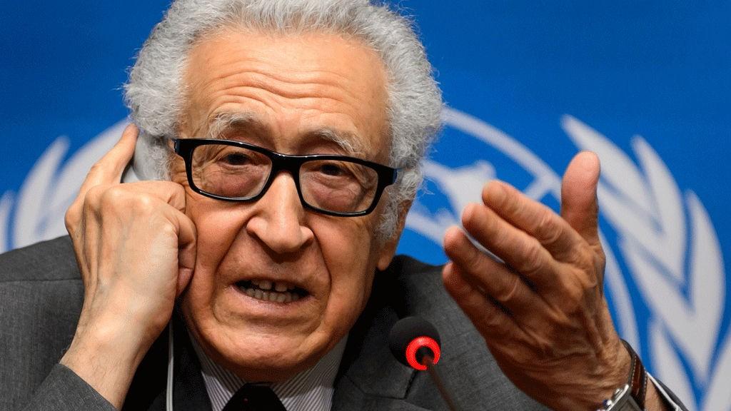 Syria Lakhdar Brahimi