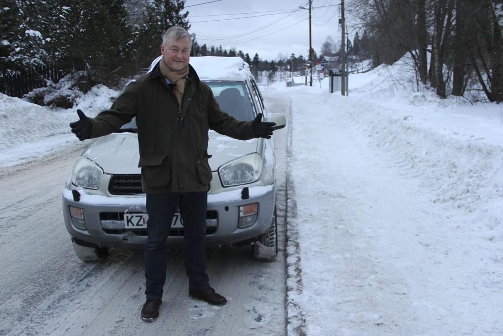 Geir Hågen Karlsen fortalte om en overraskende parkeringsbot i dittOslo tidligere denne uka.