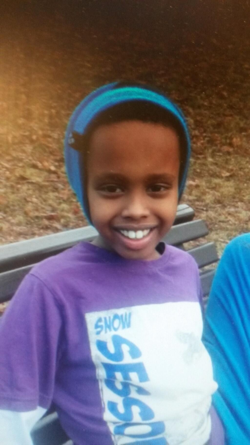 FUNNET: Mosab (9) ble funnet i god behold.