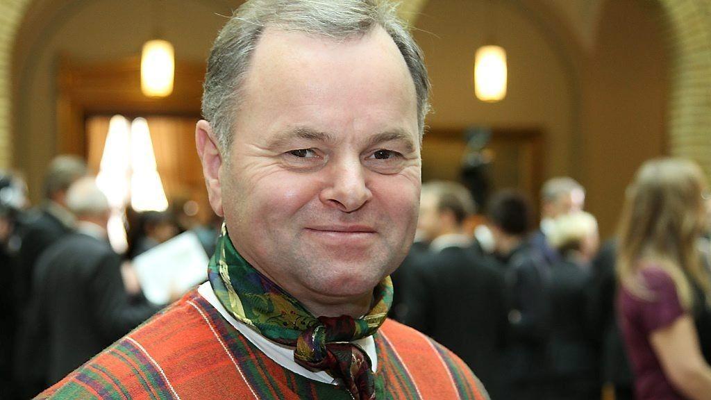 VERTEN: Stortingspresident Olemic Thommessen (H) håper så mange som mulig blir med på folkefesten på Eidsvoll og den offisielle åpningen av 200-årsfeiringen av Grunnloven.