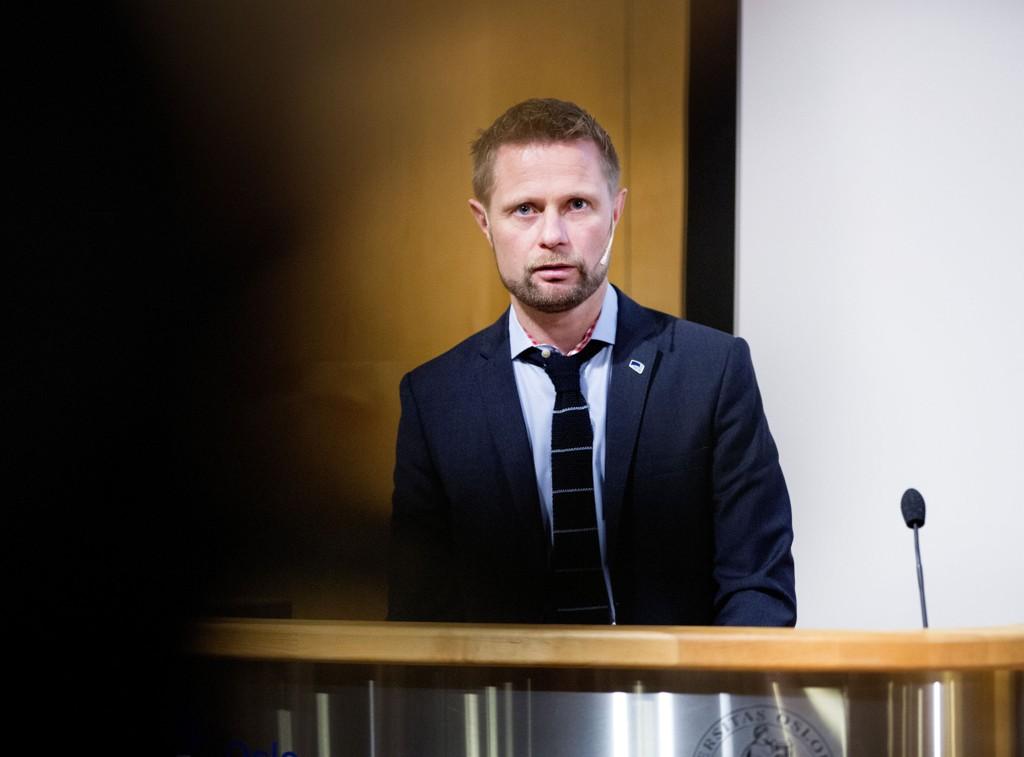 PÅ STUDIETUR: Helse- og omsorgsminister Bent Høie.