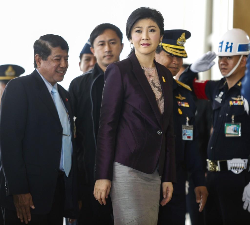 Thailands statsminister Yingluck Shinawatra.