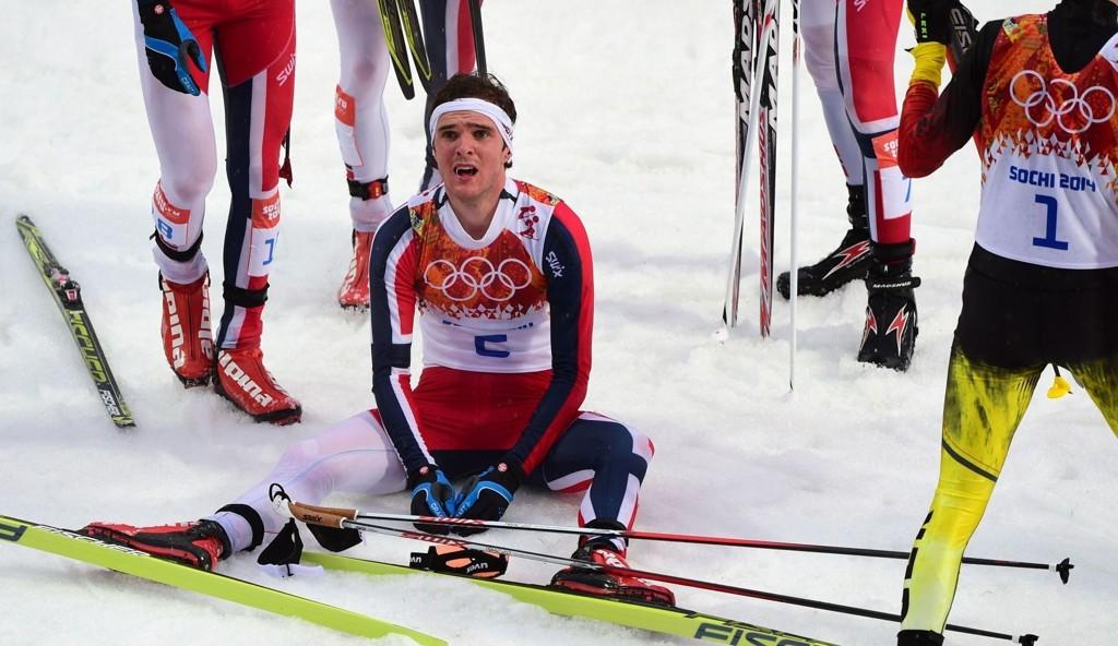 GULLGUTT: Jørgen Graabak gikk inn til et sensasjonellt gull i kombinert i Sotsji-OL.