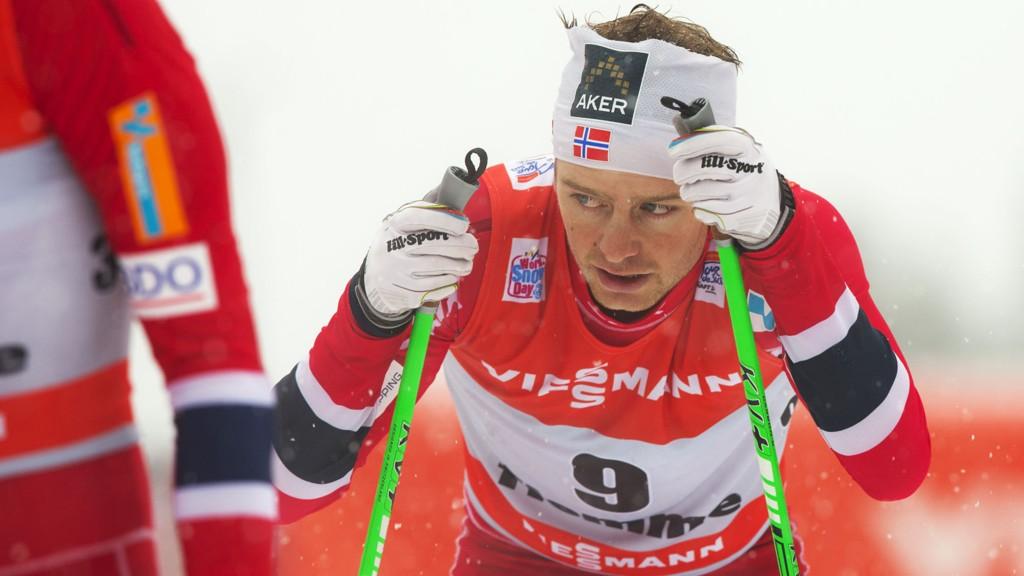 SKUFFET: Sjur Røthe får ikke gå femmila. Foto: Terje Bendiksby / NTB scanpix