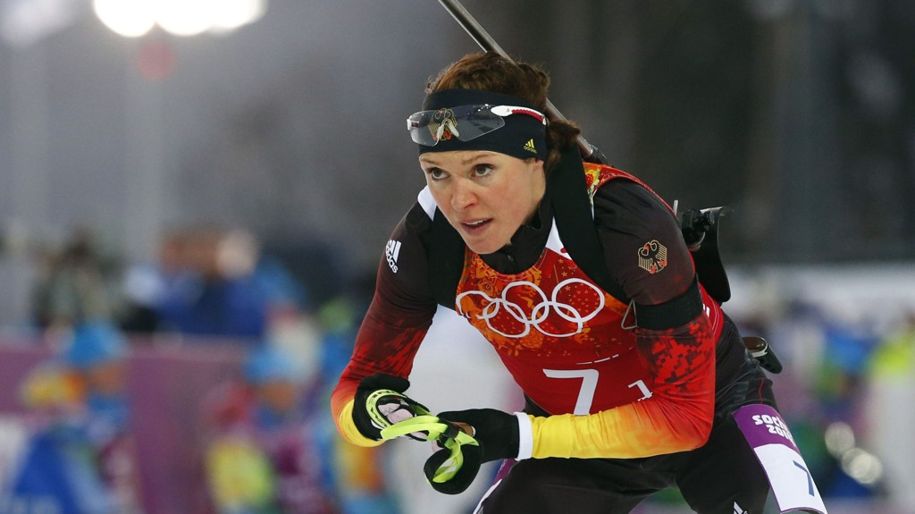 - DOPTATT: Ifølge tyske medier er det Evi Sachenbacher-Stehle som har avlagt positiv dopingprøve.