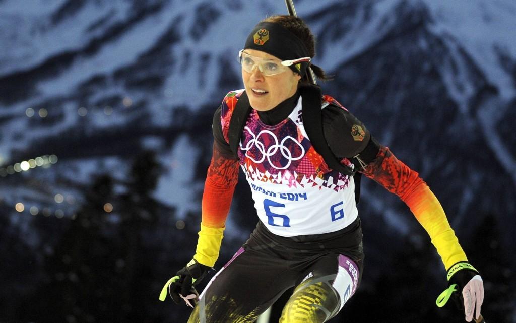 I DOPINGFELLA? Evi Sachenbacher-Stehle skal ha testet positivt på doping under OL.