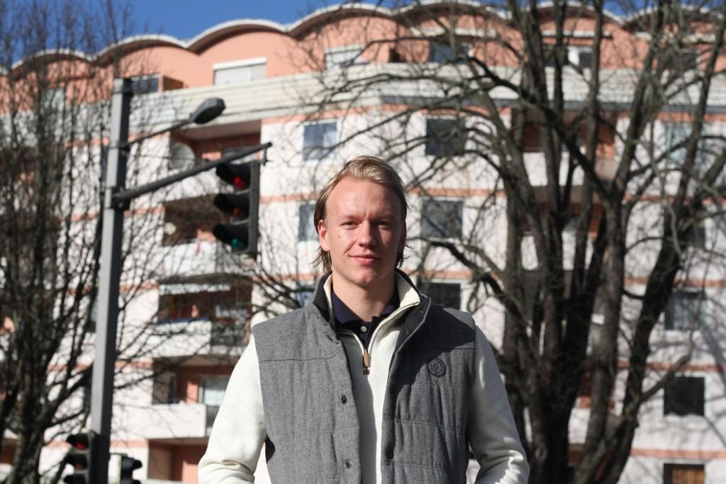 DRØMMEN: Håvard Nielsen lever guttedrømmen som fotballproff.
