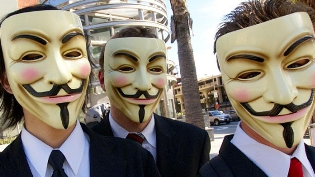 Anonymous, et nettsamfunn bestående av aktivister og hackere.