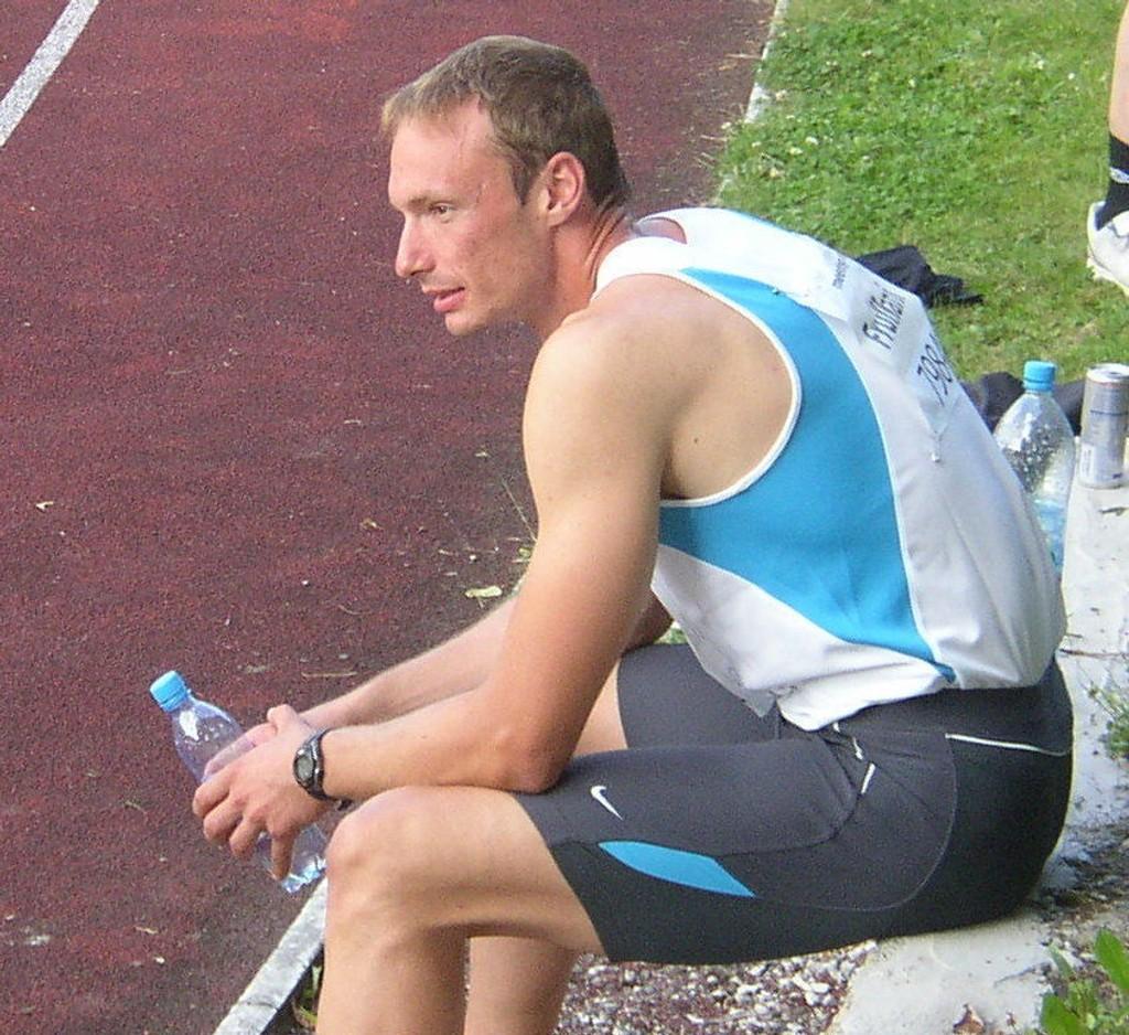DOPINGTATT: Den italienske bobkjøreren William Frullaini, som har vært aktiv i friidrett, er tatt for doping.