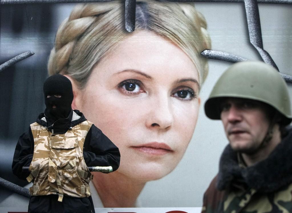 Julia Timosjenko har støttet demonstrantene i Kiev fra fengselscellen. Nå ser det ut til at hun kan bli løslatt.