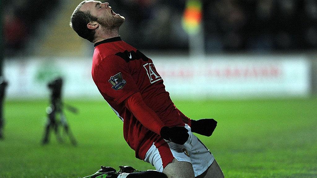 Wayne Rooney er en av få Manchester United-spillere som har levert en godkjent sesong så langt.