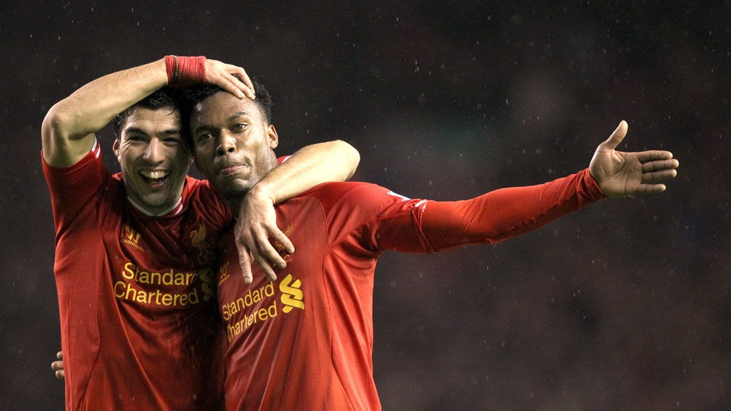 Liverpools Luis Suarez og Daniel Sturridge skal ut i en vrien bortekamp mot Southampton lørdag.