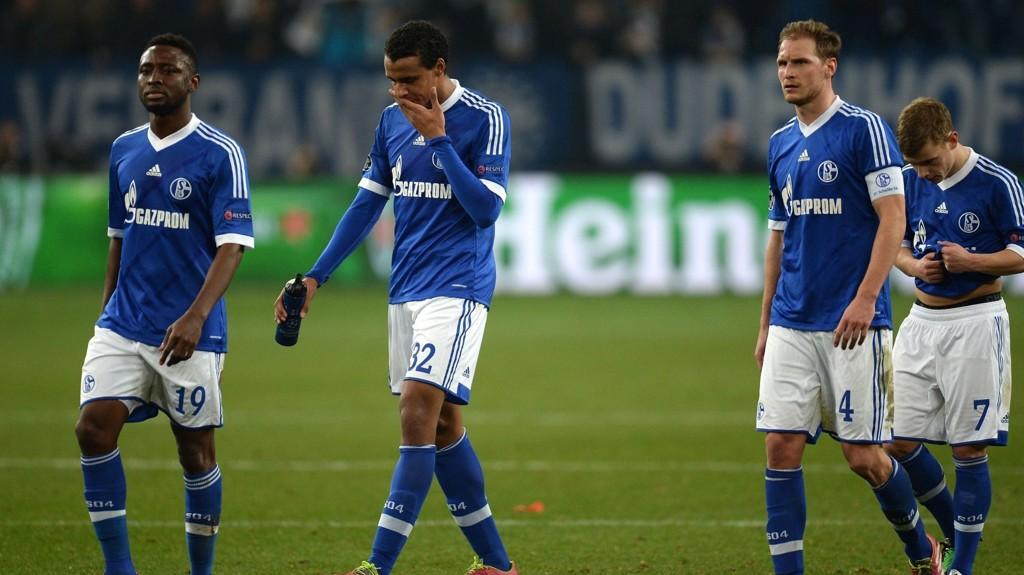 Ikke mye å juble for da Schalke tapte 1-6 hjemme mot Real Madrid på onsdag.