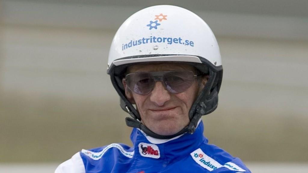 Peter Ingves får sjansen bak vår banker - råsterke Red Hot Snapper. Foto: hesteguiden.com