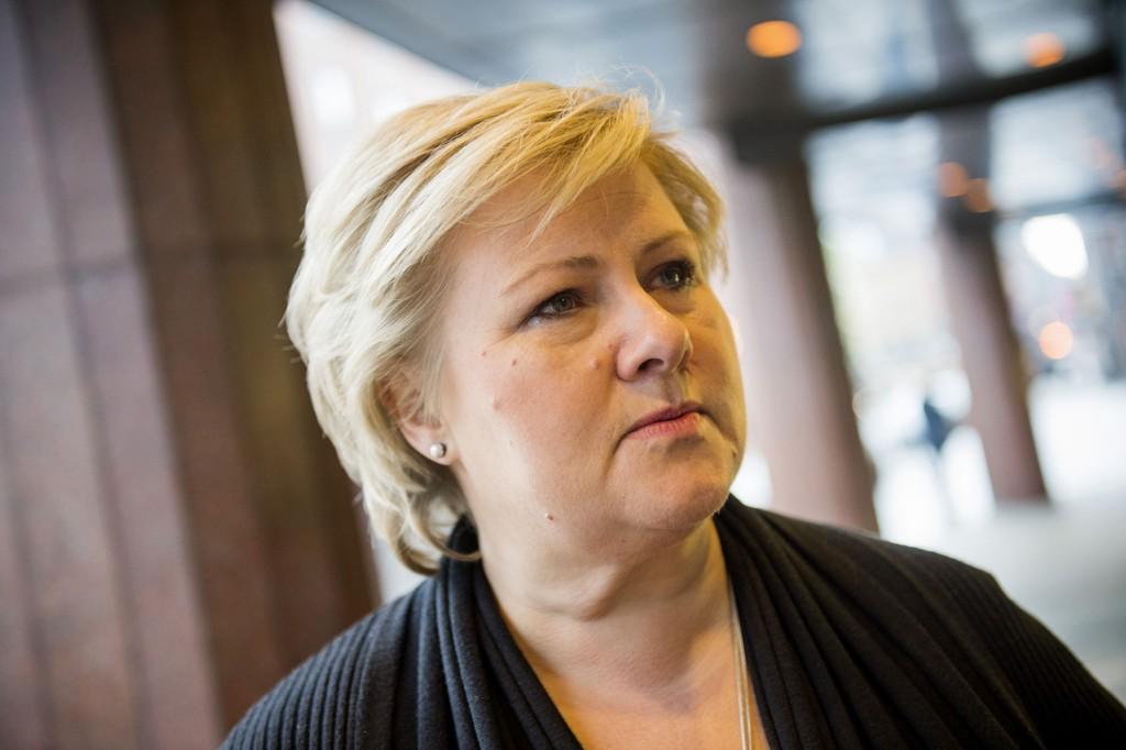 MER TILBAKEGANG: Ny tilbakegang for Høyre på ny meningsmåling. Ap og Frp frem.