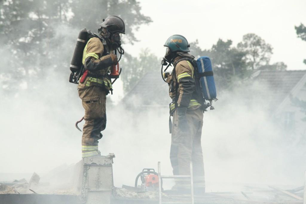Brannvesenet var på plass med store styrker på en brann på Nordstrand i fjor. Men en annen brann samtidig kunne skapt store problemer.
