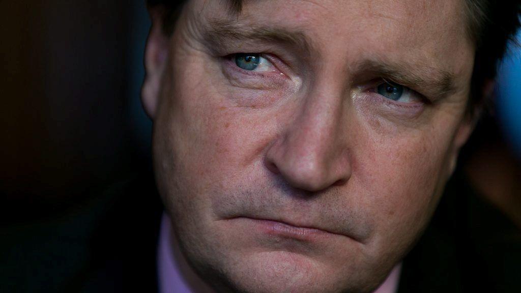 PUTIN BØR FÅ REDDE ANSIKT: Frps Christian Tybring-Gjedde mener Vesten må hjelpe Putin å redde ansikt.