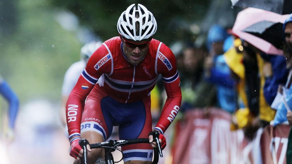 MÅ SKJERPE SEG: Thor Hushovd og de andre norske syklistene må skjerpe seg, skal det bli norsk jubel i Paris-Nice.
