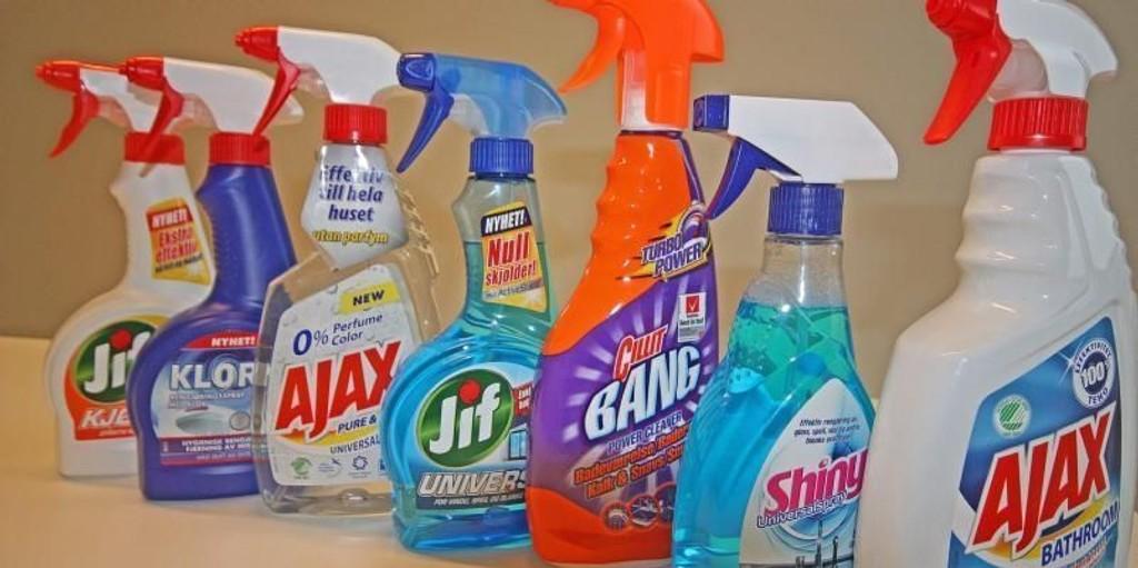 Klorin spray farlig