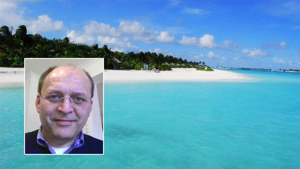 Gjermund Cappelen ble tatt med narko i paradiset Maldivene da han var på familieferie.