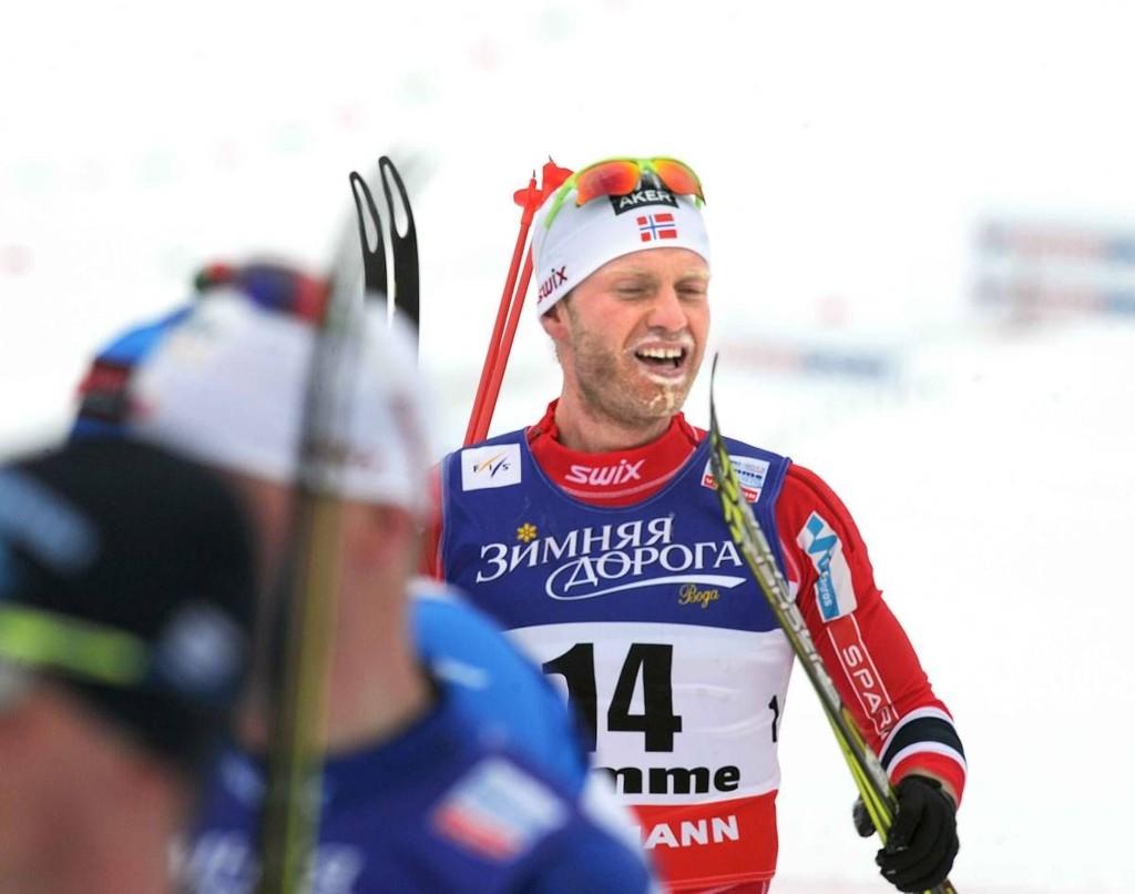 Martin Johnsrud Sundby ble nummer to på lørdagens tremil. (Arkivfoto)