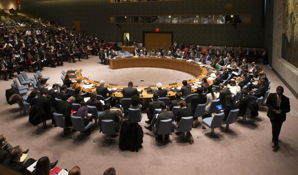 FNs sikkerhetsråd diskuterte torsdag krisen i Ukraina. Lørdag ettermiddag var rådet igjen samlet