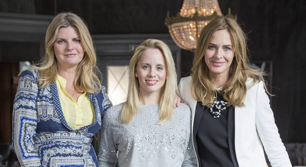Christine Guldbrandsen har blitt fornyet av Trinny og Susanna.