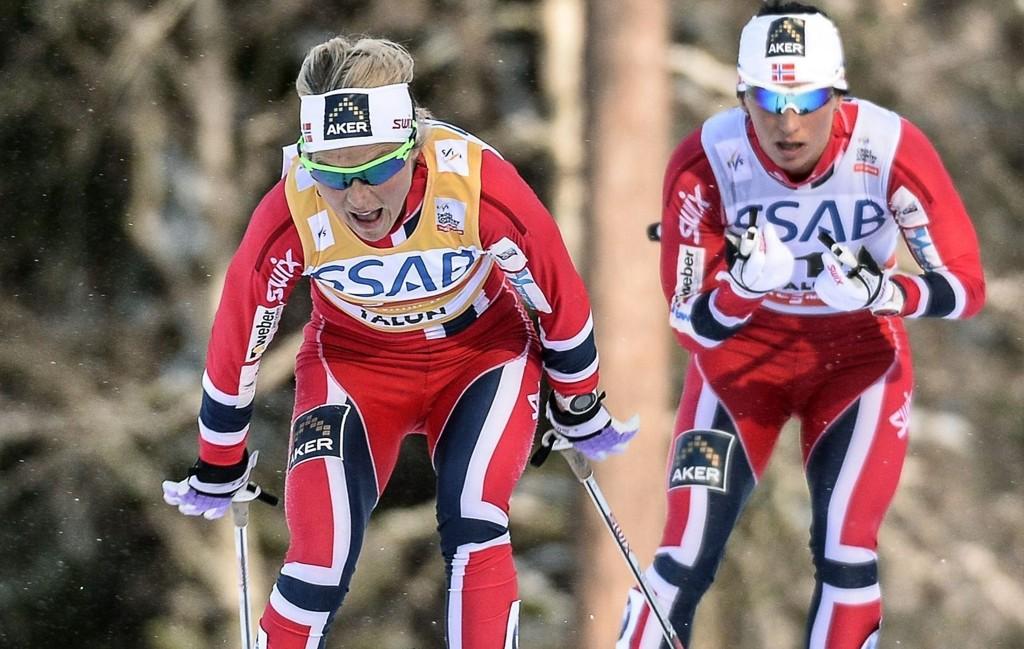 VANT: Therese Johaug knuste Marit Bjørgen og vant verdenscupenn sammenlagt.