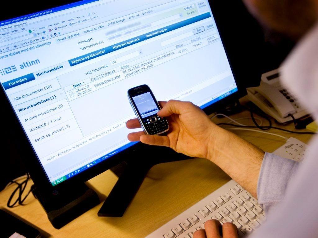 Nesten 900.000 e-brukere får selvangivelsen onsdag.