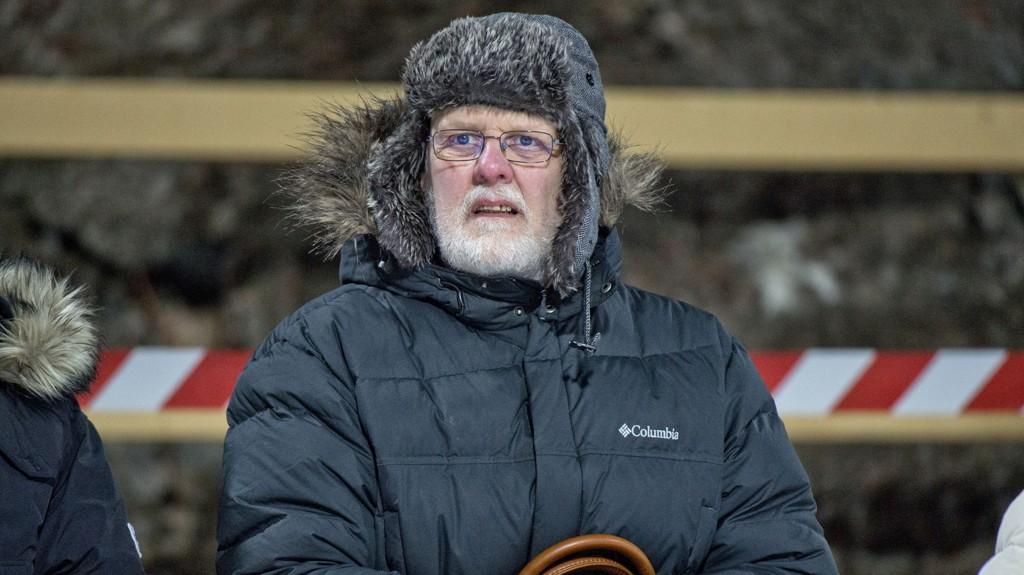 UTE: Snart er han en fri mann. Her er Sture Bergwall fotografert under en permisjon i februar da han var tilskuer under verdenscupen i hopp i Falun.