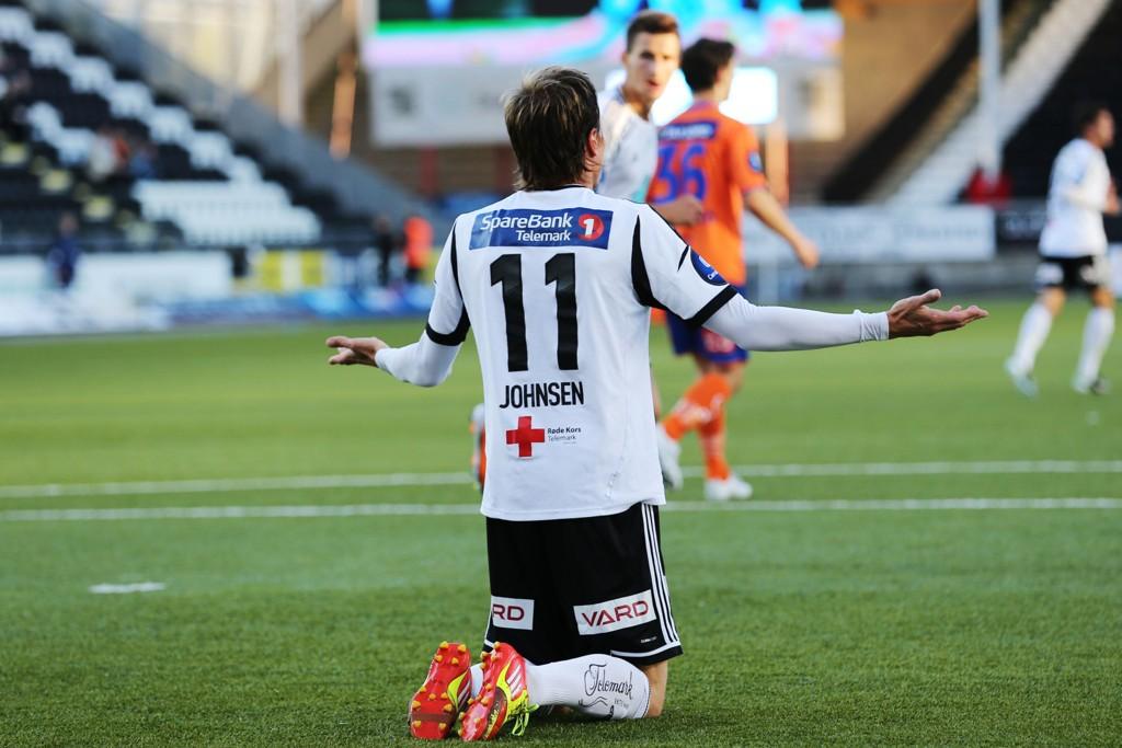 TOPPSCORER: Frode Johnsen ble Tippeligaens toppscorer sist sesong med 16 mål. Tre av dem kom i hjemmekampen mot Aalesund.