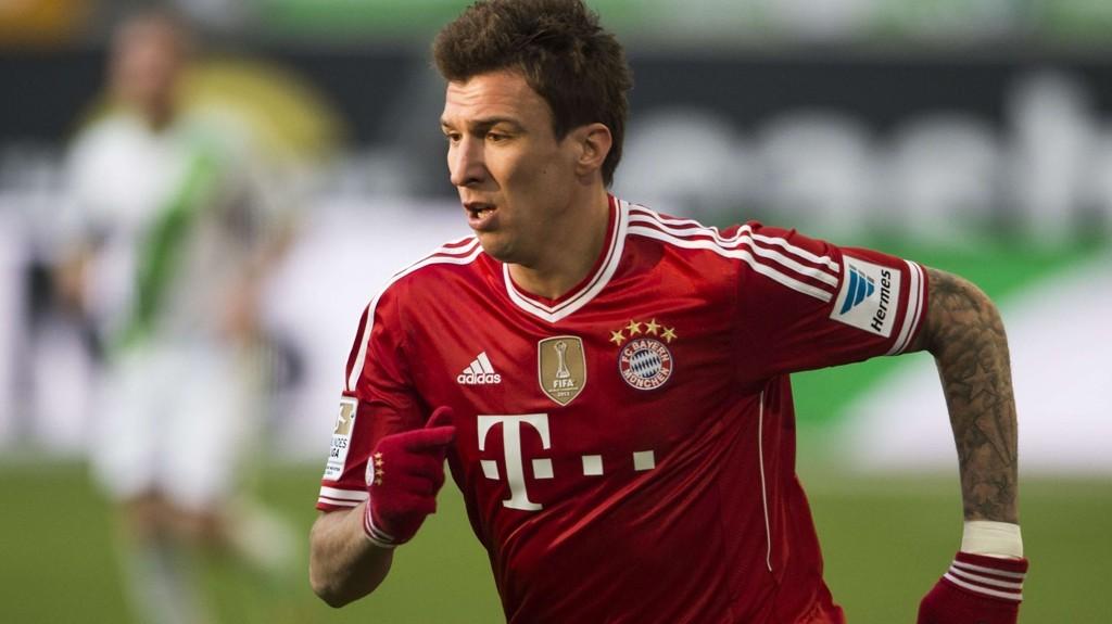 PL NESTE? Mario Mandzukic kobles til toppklubber i Premier League etter Robert Lewandowskis ankomst i München.