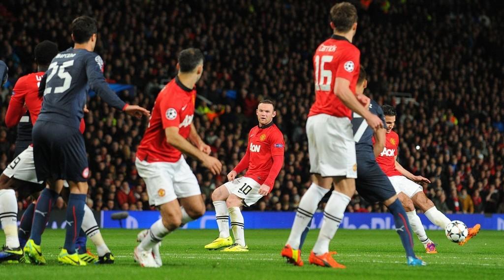 KAN DE VINNE? Manchester United henger fortsatt med i Champions League.