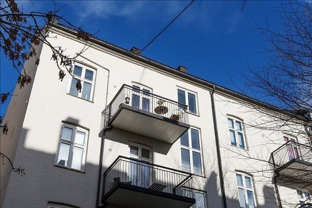 Denne leiligheten, på Grünerløkka i Oslo, er solgt for 77.500 kroner kvadratmeteren.