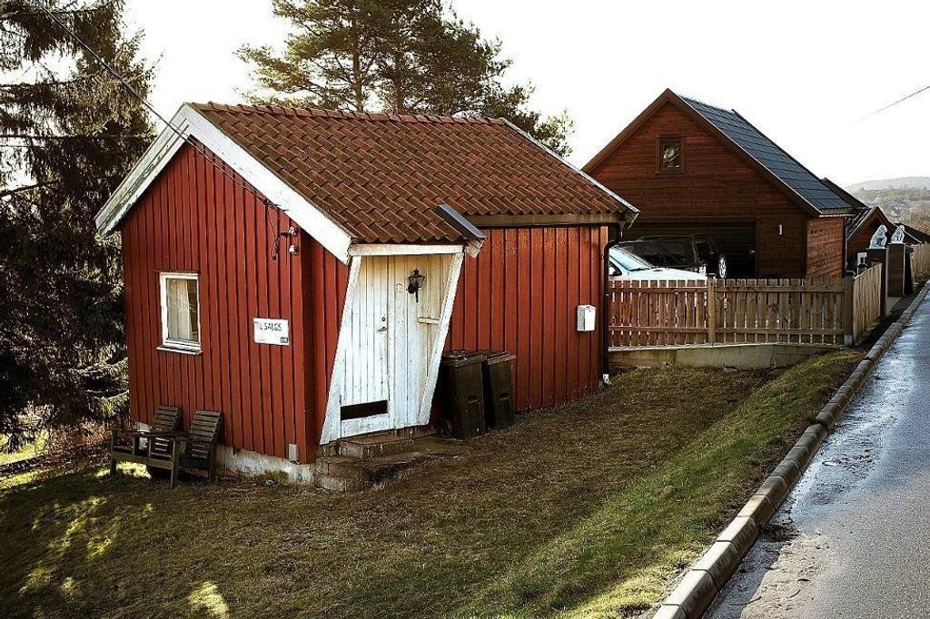 Det vesle huset i Hannestadveien er muligens det minste huset som er solgt i Norge.