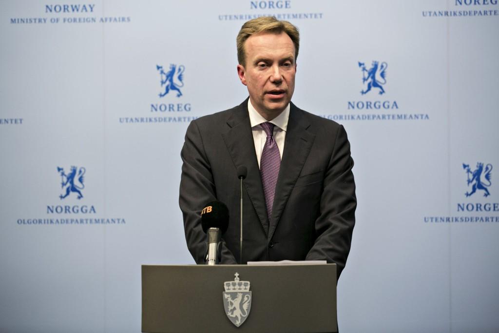 STRAMMER GREPET: Utenriksminister Børge Brende.