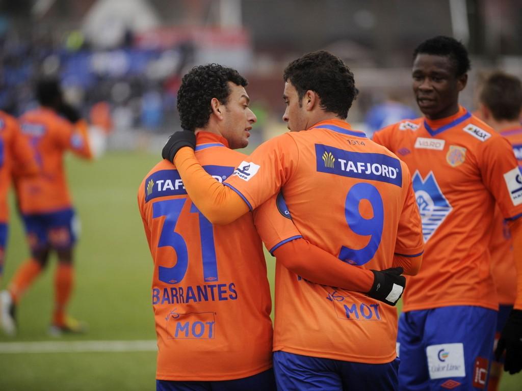 VAR KONFLIKT: Michael Barrantes (t.v.) og Abderrazzaq Hamed-Allah klarte ikke å samarbeide under fjorårets sesong, forteller AaFK-kapteinen.