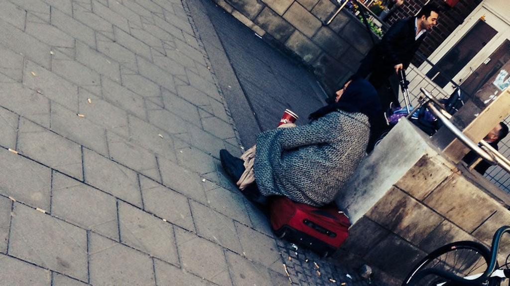 GRØNLAND: I denne bydelen i Oslo er tigging vanlig.Foto: Heidi Schei Lilleås/Mediehuset Nettavisen