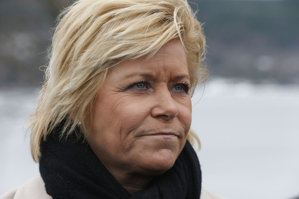 Frp-leder og finansminister Siv Jensen sier hun alltid har sett for seg at hun en dag skulle få barn, men at hun nå tror at det ikke blir noe av.