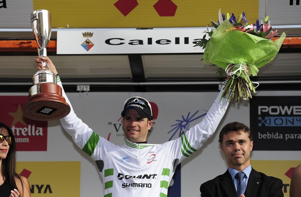 VANT IGJEN: Luka Mezgec vant også den andre etappen av Katalonia rundt.
