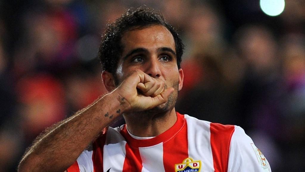Midtbanespilleren Verza har hatt en fin sesong for Almeria og er toppscorer med sju mål.