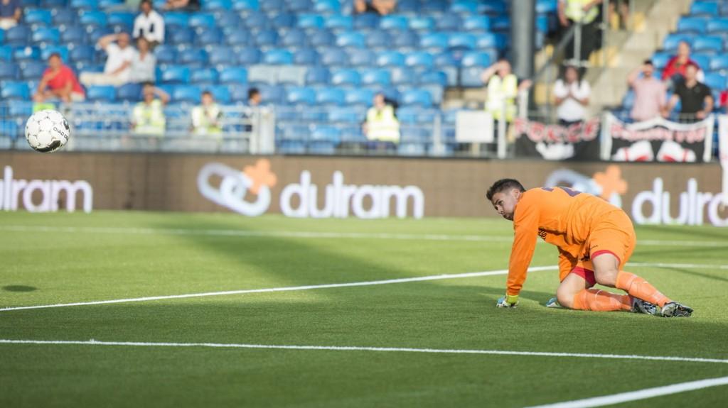 TIL ROSENBORG: Lars Stubhaug har signert med Rosenborg ut 2014-sesongen. Foto: Aleksander Andersen / NTB scanpix