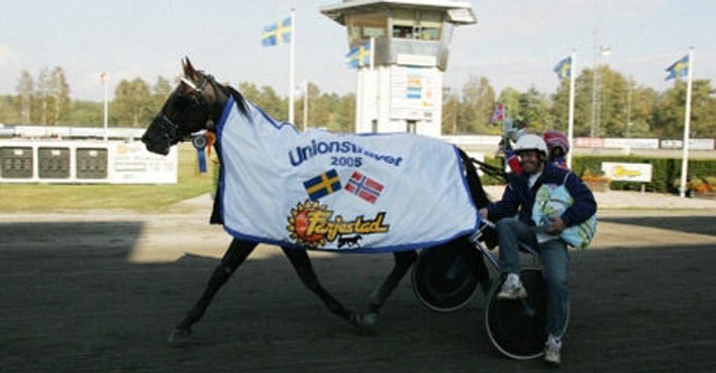 Sigbjørn Kolnes sender en spennende hest til start i V5-finalen i lunsjen på Bjerke i dag.
