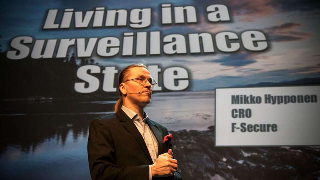 Sikkerhetsguru Mikko Hypponen mener Europa har lagt alt til rette for massiv overvåkning fra USA.